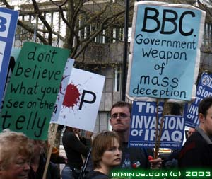 People confuse what the BBC reports with news.